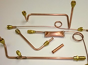 Custom Copper Runs for Freon Evacuation System